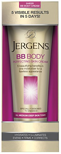 Jergens BB Body Perfecting Skin Cream, All Medium-Deep Skin