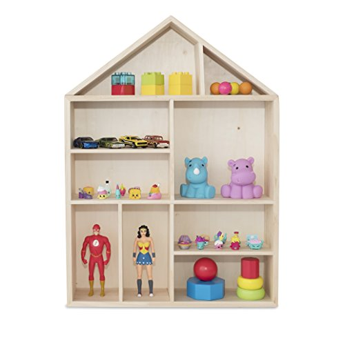 Review WALLNITURE House Shape Wooden