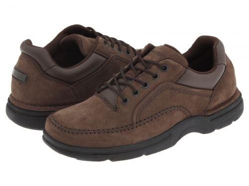 ジャニス強大なのどRockport(ロックポート) メンズ 男性用 シューズ 靴 オックスフォード 紳士靴 通勤靴 Eureka - Chocolate Nubuck [並行輸入品]