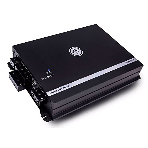 Amplificador Audiophonic NEW HP 5000 (4 x 105W + 1 x 530W RMS)