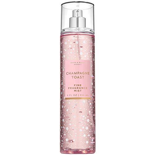 Bath and Body Works CHAMPAGNE TOAST Fine Fragrance Mist 8 Fluid Ounce (2019 Edition)
