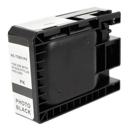Cartucho de tinta epson t5801 (color negro)  photo compatible ...