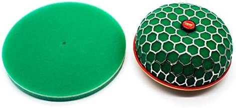 IENPAJNEPQN Universal 250mm Air Filter Foam 3Layer Filter Sponge Element Suitable Mushroom Air Filter Cleaner Replacement Green Sponge
