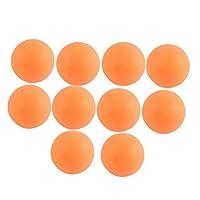 10Stk Wettbewerb Sport Kunststoff 40mm Durchmesser Tischtennisbälle Ping Pong