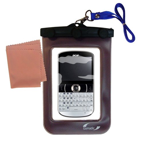 Underwater Case for the Acer beTouch e130 e140 – 天気、安全に保護防水ケースagainst the elements   B005CIOAU6