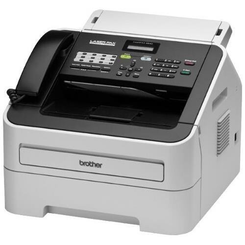 Brother FAX-2840 Mono Laser - Brother IntelliFax 2840 Mono Laser MFP (21ppm Print/21cpm Copy) (16MB) (8.5'x14') (2400x600 dpi) (USB) (Energy Star) (250 Sheet Input Capacity) (20 Sheet ADF)