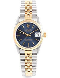 68273 Ladies 31mm Datejust Model - Blue Dial - Jubilee Band (Certified Pre-Owned)
