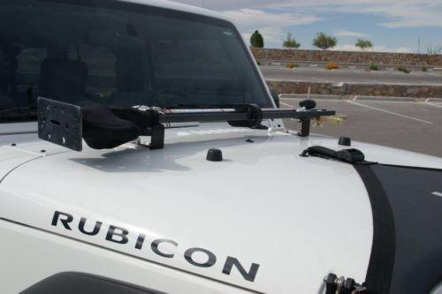 Hi Lift Jack Mount for Jeep Wrangler JK JKU Unlimited Sahara Rubicon 2007 - Present