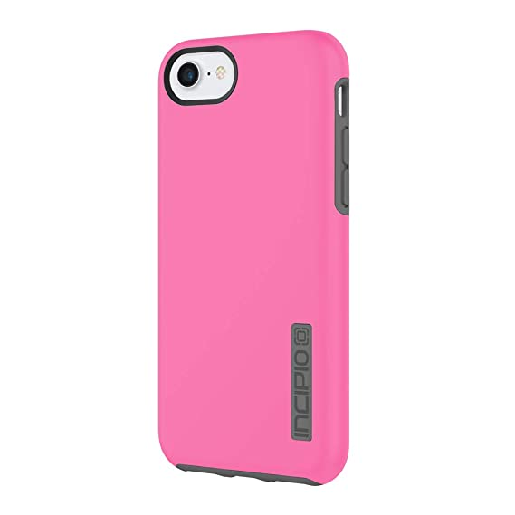 best sneakers 5283c 0ca49 Incipio DualPro iPhone 8 & iPhone 7/6/6s Case with Shock-Absorbing Inner  Core & Protective Outer Shell for iPhone 8 & iPhone 7/6/6s - Pink/Charcoal