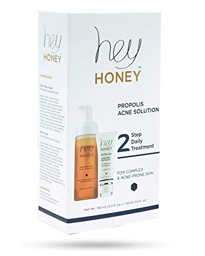 Best Acne Treatment with Propolis and Honey by Hey Honey Skin Care
