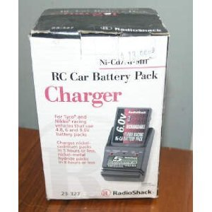 Amazon.com: Nikko Tyco RC Car Battery Pack Charger 23-327