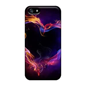 Sanp On Cases Covers Protector For Iphone 5/5s (colorful Heart)