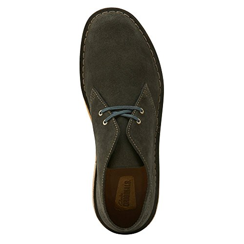 Clarks Suede Mens Boot Desert Green 4qrY4