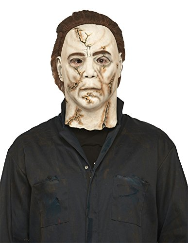Rob Zombie Michael Myers Adult Mask (Michael Myers Rob Zombie Mask Halloween Costume - Most Adults)