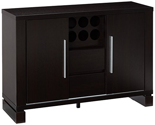 247SHOPATHOME ID-11423 sideboards, Cappuccino For Sale