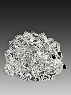 Crystal Hedgehog (Asfour Crystal 646-17 0.94 L x 0.66 H in. Crystal Hedgehog Animals)