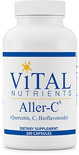 Vital Nutrients - Aller-C (Quercetin, Vitamin C, and Bioflavonoids) - Respiratory & Sinus Support - 200 Capsules by Vital Nutrients