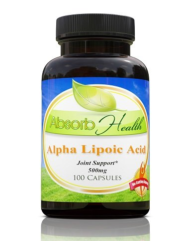 Lipoic Capsules Manage Weight Supplement