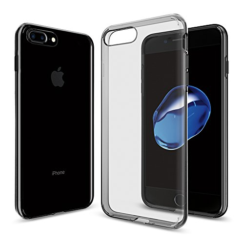 iPhone 7 Plus Hülle, Spigen® [Liquid Crystal] Ultra Dünn [Space Crystal] Bumper-Style Premium-TPU / Sehr Leicht / Perfekte Passform / Durchsichtiges Soft-Case Schutzhülle für iPhone 7 Plus Case, iPhone 7 Plus Cover - Space Crystal (043CS20855)