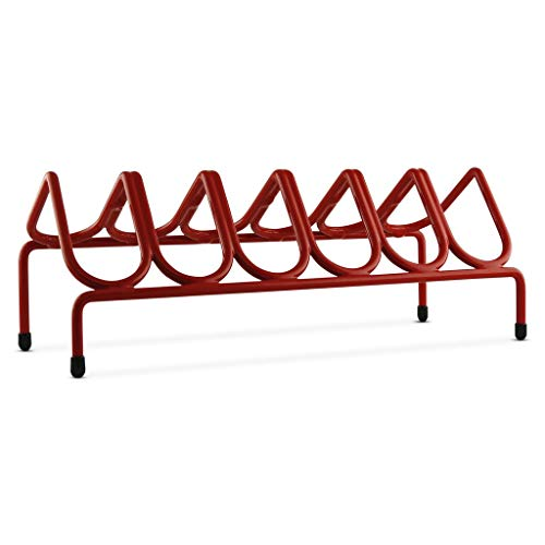 - VR6 Versatile Handgun & Pistol Rack (Holds 6 Guns) Scarlet Red