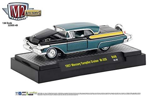 M2 Machines Auto-Thentics 1:64 Release 49 1957 Mercury Turnpike Cruiser M-335