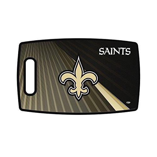 (Sports Vault NFL New Orleans Saints Large Cutting Board, 14.5
