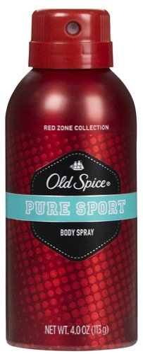 Old Spice Red Zone Collection Body Spray Pure Sport (Old Spice Pure Sport Body Spray)