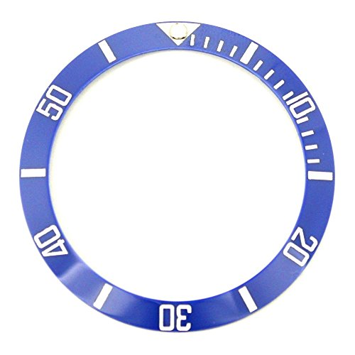 Bezel Insert To Fit Rolex Men's Submariner - Blue / White Ceramic