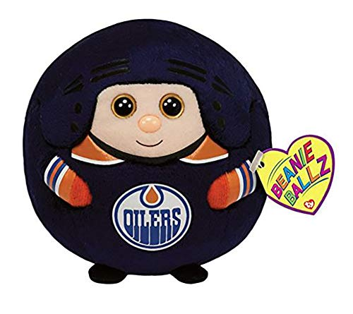 Ty Beanie Ballz Edmonton Oilers Plush, NHL ()