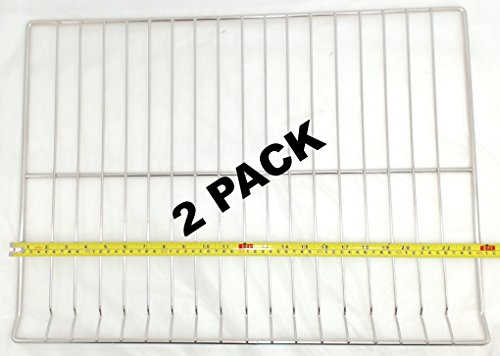 Replacement Oven Racks - 2 Pk, Oven Rack for General Electric, Hotpoint, AP5665850, PS6447646, WB48T10095