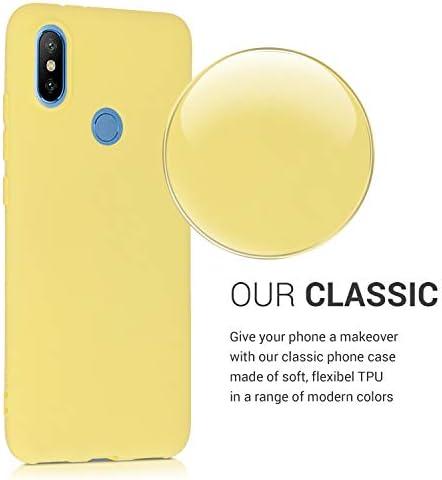 JMstore Funda Compatible con Xiaomi 6X//Xiaomi A2 Silicona L/íquida con Colgante//Cadena.Protectora ponible Cord/ón Cruzado Correa Cuello Cord/ón