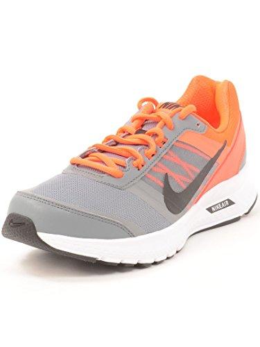 Nike - Zapatillas de Piel para hombre black sail action red 015 Sport Red/Sport Red 006