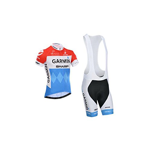 Strgao 2016 Mens Pro Racing Team MTB Bike Bicycle Cycling Short Sleeve Jersey and Bib Shorts Set Suit