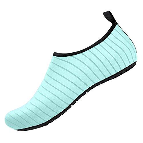 Dry Aqua Water Yoga Teal Socks Beach Skin Quick Shoes Adult COMVIP Barefoot Light q41w8t0
