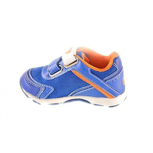 Naturino - Naturino Scarpe Bambino Azzurro Arancio Strappi Velcro Sport 365 - Bleu, 21