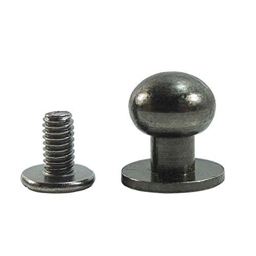Bluemoona 50 Sets - Head Button 8mm 5/16