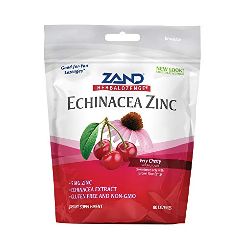 Zand HerbaLozenge Cherry Echinacea Zinc | 80 Lozenge ()