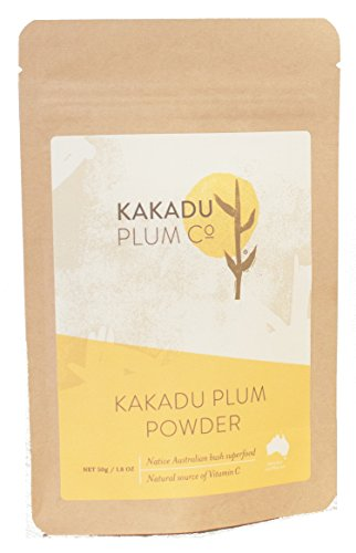Kakadu Plum Powder - Australian Superfood - #1 Global Source of Vitamin C - Antioxidants. Sustain Health and Immune System. Fight Allergens - 1.8 oz
