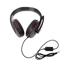 Generic Universal Wird Gaming Headset Headphone with MIC for PS4 XBOX ONE PC MP4