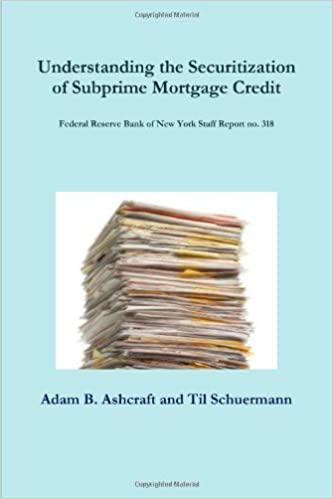 Understanding The Securitization Of Subprime Mortgage Credit