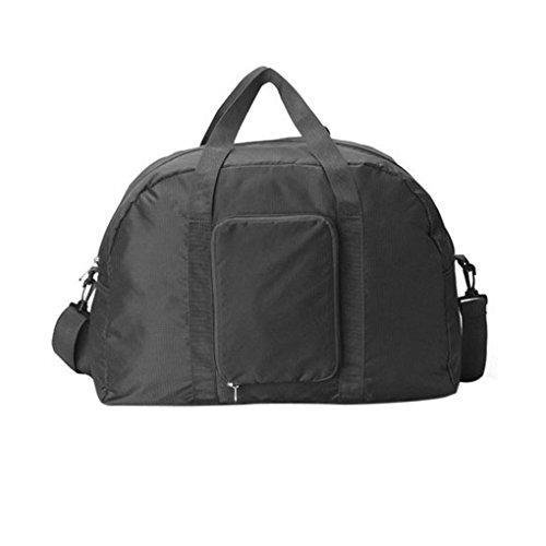 Nylon Reisetasche, Faltbare Kleidertasche, Wasserdichte Tasche Bag Storage für Reise Große Kapazität Wandern Sport Urlaub Outdoor 46 *35 *13cm