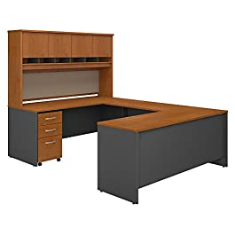 Bush Business Furniture Desk with Storage SRC094AU...