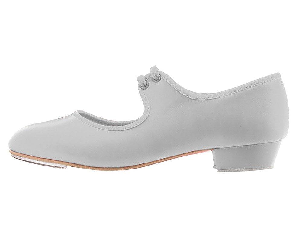 Girls Ladies Black PU Low Heel Tap Dance Shoes All Sizes By Katz Dancewear