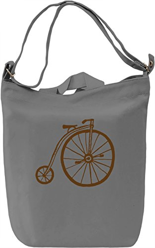 Boneshaker Borsa Giornaliera Canvas Canvas Day Bag| 100% Premium Cotton Canvas| DTG Printing|