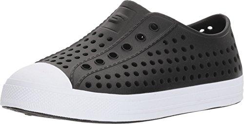Skechers Boy's, Guzman 2.0 Helioblast Slip on Shoes Black 1 M (Shoes Boys Skechers Size 1)