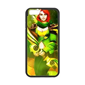 Dota2 WINDRANGER iPhone 6 Plus 5.5 Inch Cell Phone Case Black Phone Accessories LK_784602
