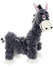 Timpfee Puppet Small Donkey, Crazy Donkey Marionette String Puppets Doll Parent-Child Interactive Educational Toys for Children Kids