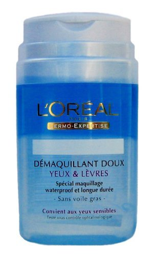 L'Oréal Paris Gentle Eyes & Lips Make Up Remover (125ml) (L Oreal Dermo Expertise Gentle Eye Makeup Remover)