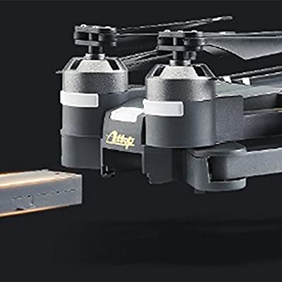 Qiyun RC Drone 2.4G 4 Channel 14-Axis RC Drone Mini Foldable RC Helicopter Wifi Real-time Transmission Drone and Accessories (Sold Separately)colour:battery
