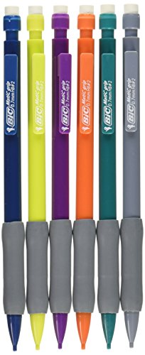 BIC Xtra-Comfort Mechanical Pencil, Medium Point (0.7mm), - Pencil Colored Bic